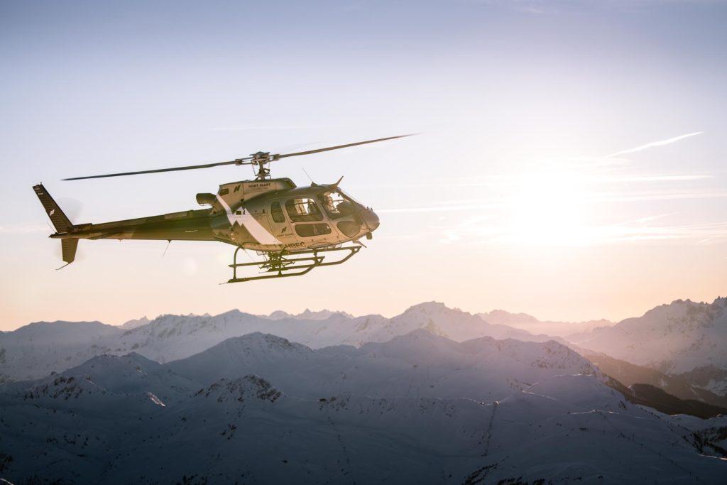 Initiation flights - Airbus AS350 - Mont Blanc Hélicoptères Les Arcs
