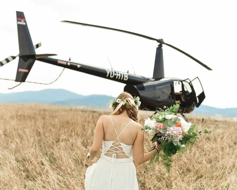 Flights Experiences - Marriages - Mont Blanc Hélicoptères Les Arcs