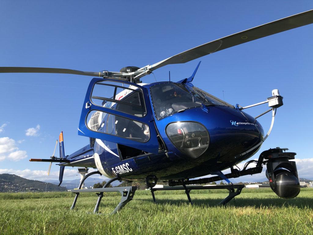 Travail aerien - Prise de vue aerienne - Mont Blanc Hélicoptères Les Arcs