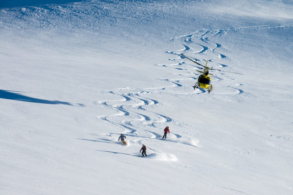 Flights Experiences - Heliskiing - Mont Blanc Hélicoptères Les Arcs