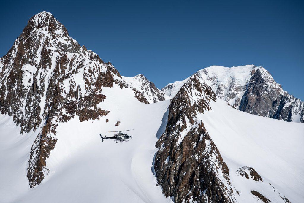Tourist flights - Flight over Mont Blanc 20min - Mont Blanc Hélicoptères Les Arcs