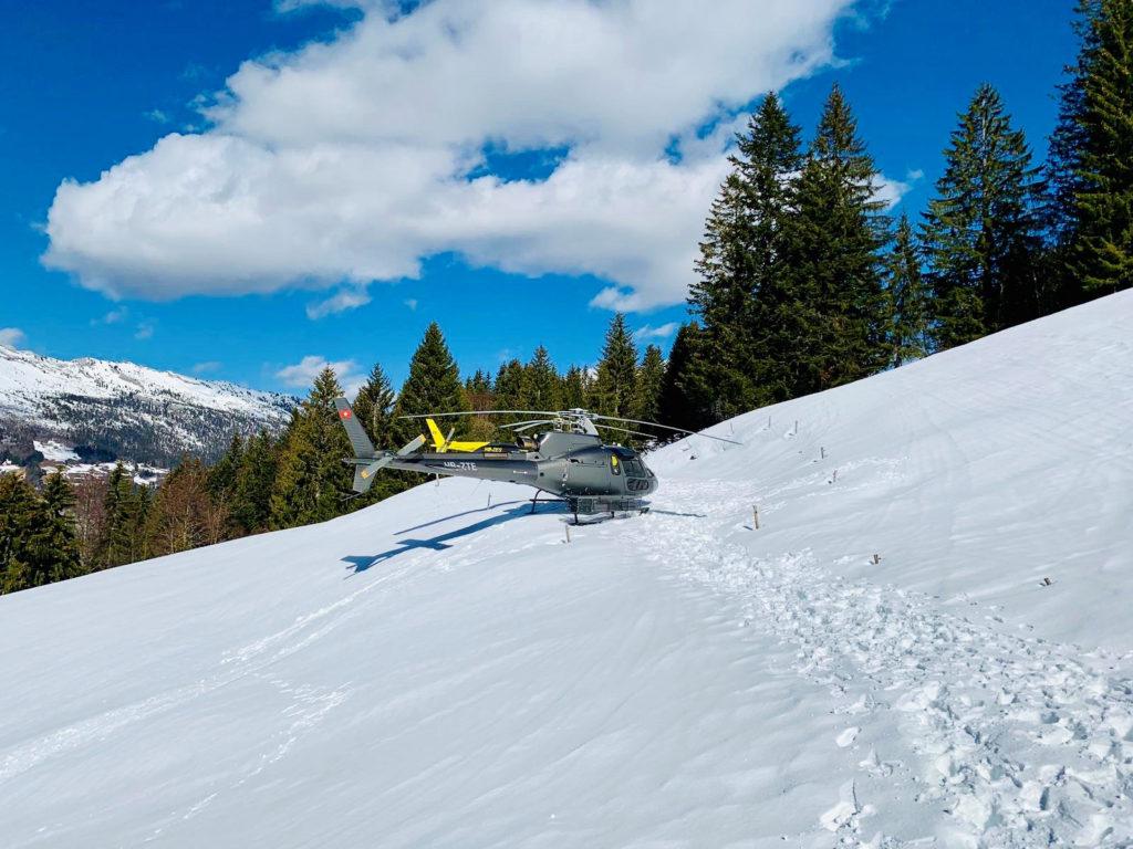 Flights Experiences - Heli-Fondue - Mont Blanc Hélicoptères Les Arcs