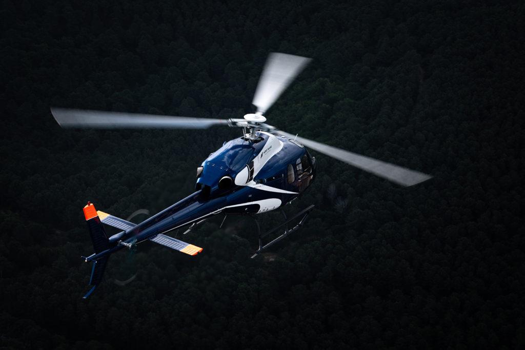 Travail aerien - Surveillance aerienne - Mont Blanc Hélicoptères Les Arcs